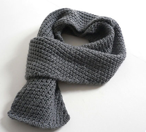 Ravelry Extra Warm Mens Scarf Pattern By Kyoko Nakayoshi