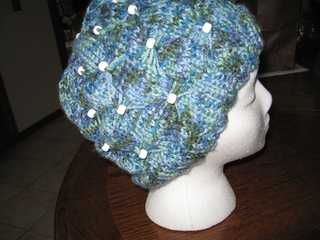 00634d8b8f7 Ravelry  KOL Beaded Bow Hat pattern by Knots of Love