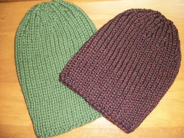 Ravelry Mens Basic Rib Hat Pattern By Eileen Lee