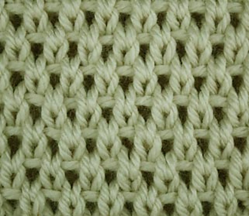Ravelry Eyelet Moss Stitch Pattern By Craftcookie
