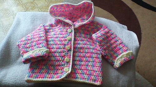 Ravelry Sweet Baby Hoodie Pattern By Bernat Design Studio