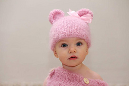 Corlia_sitter_pink_romper_dungaree_hat_bear_beanie_small_best_fit
