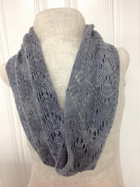 Ravelry: Stormy Lace Cowl pattern by Undeniable Glitter- Alyssa