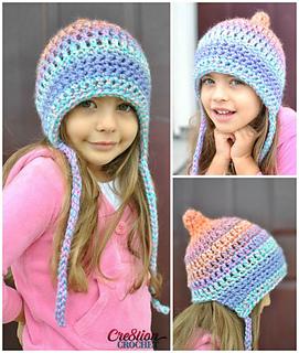 Ravelry  Unique Pixie Bonnet Style Hat pattern by Lorene Haythorn ... 63c1dde7aef