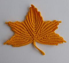 Ravelry maple leaf motifs irish crochet pattern by crochet atelier luba davies atelier ccuart Image collections