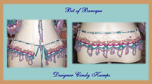Ravelry Bit Of Baroque Crochet Belt Pattern By Cindy Kamps