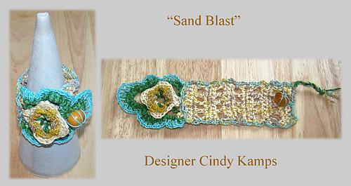 Ravelry Sand Blast Cuff Bracelet Pattern Pattern By Cindy Kamps