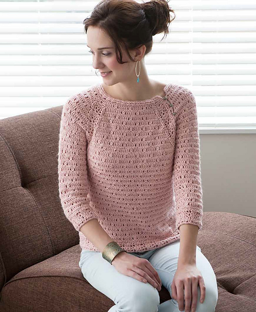 Ravelry blueprint crochet sweaters techniques for custom rose quartz pullover malvernweather Choice Image