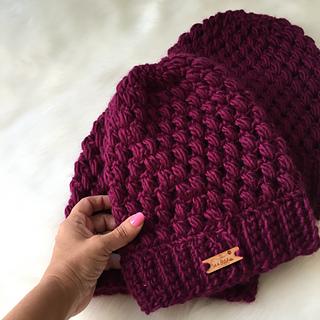 Ravelry  Helix Puff Stitch Beanie pattern by Michele Costa 1e4c7b31c86