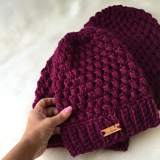 Ravelry  Helix Puff Stitch Beanie pattern by Michele Costa 17fac00bad3