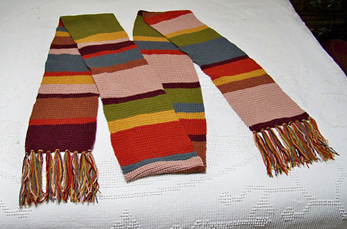 Ravelry Doctor Who S12 Crocheted Scarf Pattern By Sandra Petit