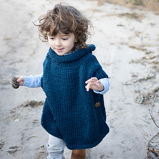a2fdbb31a4e8 Ravelry  Easy Kid s Poncho pattern by Gina Michele