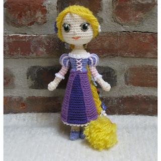 Amigurumi Star Wars Patrones Gratis : Ravelry: Amigurumi Doll Rapunzel pattern by Crochet Cute ...