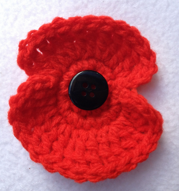 Ravelry Remembrance Poppy Pattern By Mary Thomson
