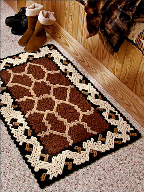 Ravelry Annies Attic 879520 Wiggly Crochet Rugs Patterns