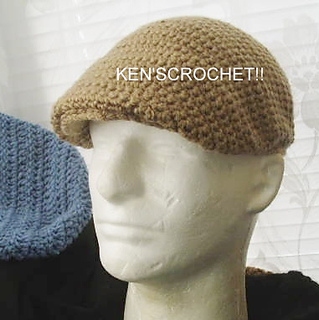 Ravelry  Kangol Style Jeff Cap pattern by Ken Jones-CrochetGuy f5a679e9e1d