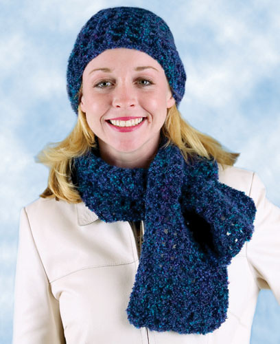 Ravelry Easy Hat And Keyhole Scarf Scarf Archived Pattern By