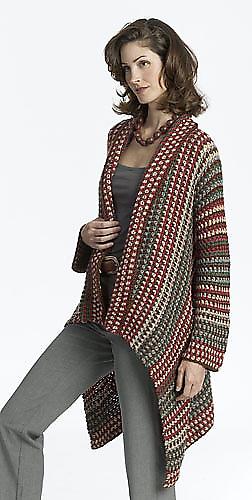 Ravelry: Asymmetrical Jacket pattern by Doris Chan