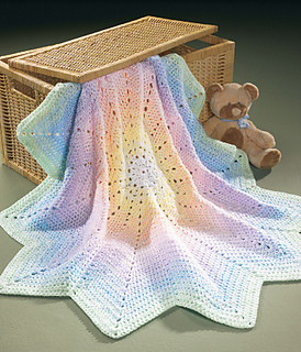 Ravelry Peaceful Pastels Afghan Pattern By Mary Maxim