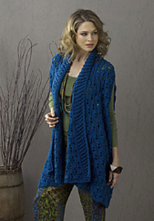 1f287cb6dc9ce0 Ravelry  Sherbrook Elongated Summer Jacket pattern by Tammy Hildebrand