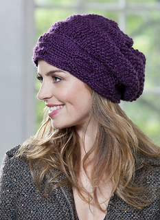 Ravelry  Banded Beanie pattern by Tina Sanders 68ef8749f34