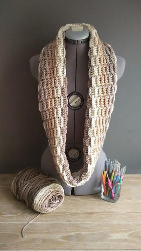 Ravelry Basket Weave Cowl Pattern By Flo Szabo