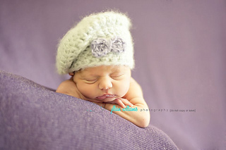 40c36f56193 Ravelry  baby girl slouch hat pattern by Crochetmylove designs