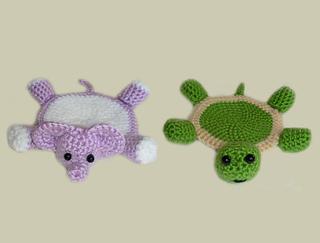 Ravelry Amigurumi Animal Coasters Pattern By Rachel Choi