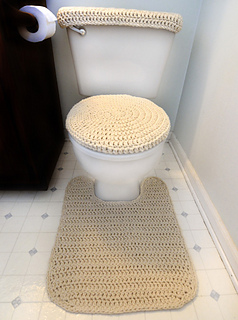 Ravelry Toilet Cover Set And Contour Rug Pattern By Rachel Choi