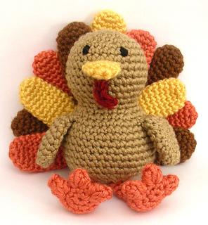 Crochet Flower Pattern Rose By Rachel Choi : Ravelry: Timothy The Turkey pattern by Rachel Choi