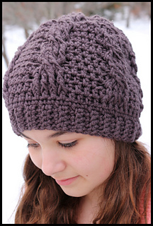 Ravelry  Classic Chunky Cable Hat pattern by Crochet Supernova 28a854940dd