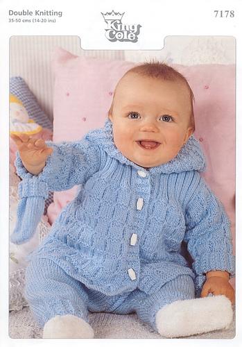 e88b69493892 Ravelry  King Cole  7178 Baby Jacket