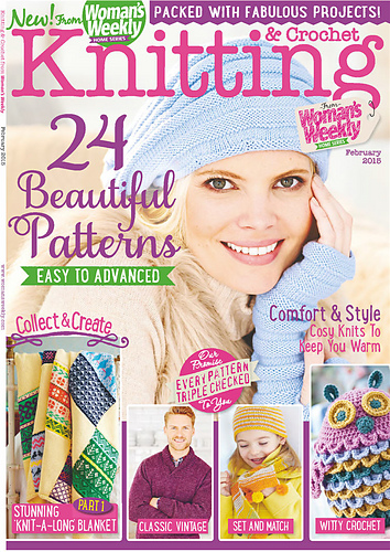 Ravelry Womans Weekly Knitting Crochet February 2015 Patterns