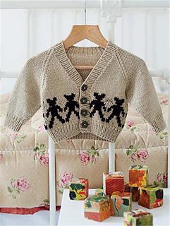 6ae5304df Ravelry  Yarrow Teddy Bear Cardigan pattern by Rita Taylor