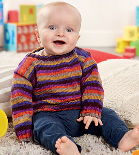 c19e5610dd7a Ravelry  Classic Baby Jumper pattern by Penny Hill