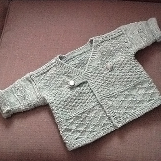 Ravelry Baby Gansey Crossover Coat Pattern By Deborah Hess