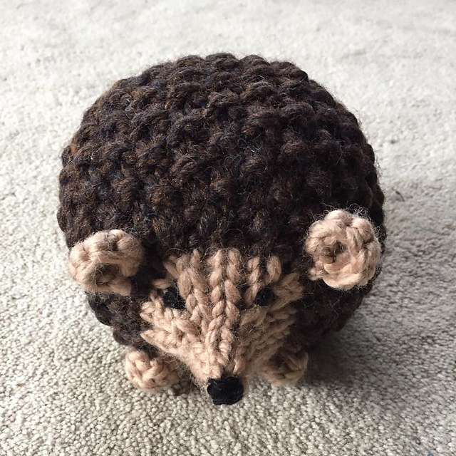 Ravelry Prickles The Hedgehog Pattern By Emily Wolowiec