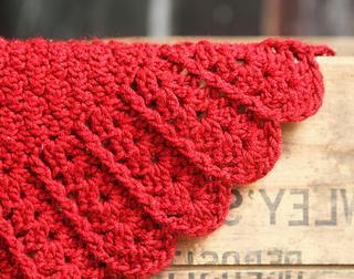 Ravelry Build A Shell Border Baby Blanket Pattern By Jocelyn Sass