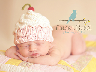 3eb58b66d45 Ravelry  Cute as a Cupcake Hat pattern by Cutie Patootees