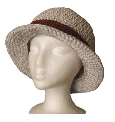 Ravelry Bucket Hat With A Straight Brim Pattern By Christina Williams
