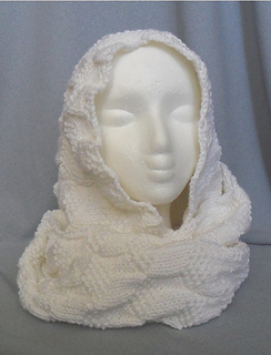 Ravelry Knitted Cubes Headscarf Pattern By Christina Williams