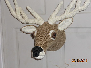 Ravelry: Animal Heads: Trophy Heads to Crochet - patterns