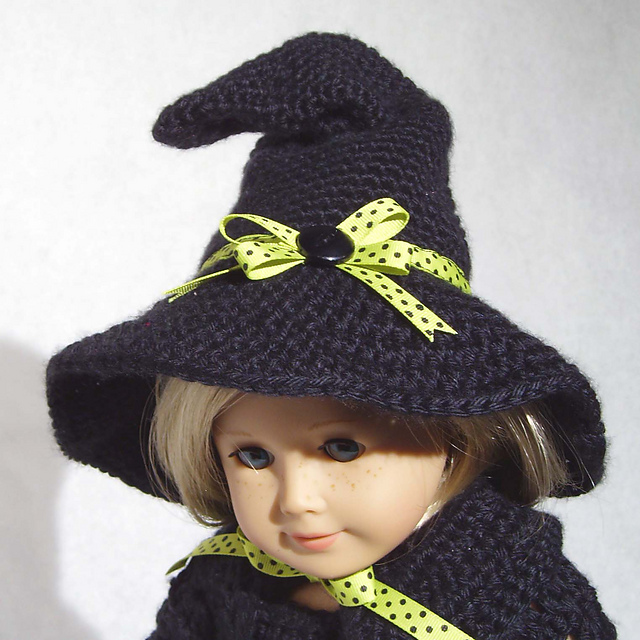 Ravelry Bewitching Holiday Crochet Doll Hats Pattern By Lori Thompson