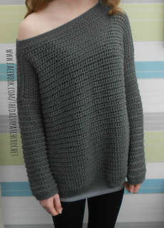 Ravelry Daisy Off The Shoulder Sweater Pattern By Gillian
