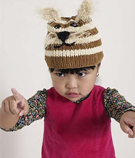 0d56704b8c1 Ravelry  Baby Animal  Tiger Kitty  Hat pattern by Lion Brand Yarn