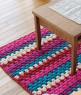 Knitting Rugs Free Patterns Blitz Blog Source Ravelry