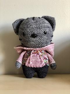 Ravelry: Milo the Hipster Cat Amigurumi pattern by Mariska ...