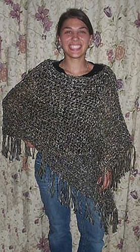 Customizable Crochet Poncho Enchanting Crochet Poncho Pattern Ravelry