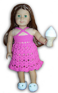 Crochet Pattern For Doll Sling : Ravelry: American Girl of 18