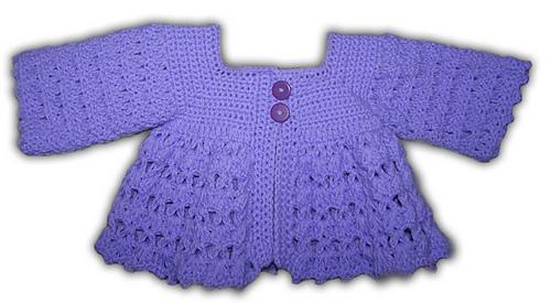 Ravelry One For Each Baby Girl Baby Boy Sweater 2 Crochet